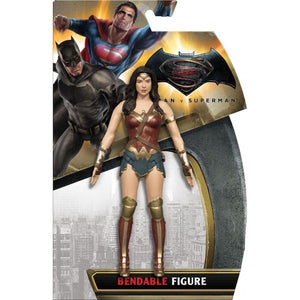 Dawn of Justice Wonder Woman Bendable Figure by NJ Croce-NJ Croce- www.superherotoystore.com-Action Figure