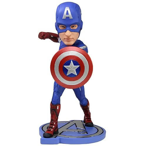 Avengers: Captain America Headknocker by NECA-NECA- www.superherotoystore.com-Bobble Heads - 1