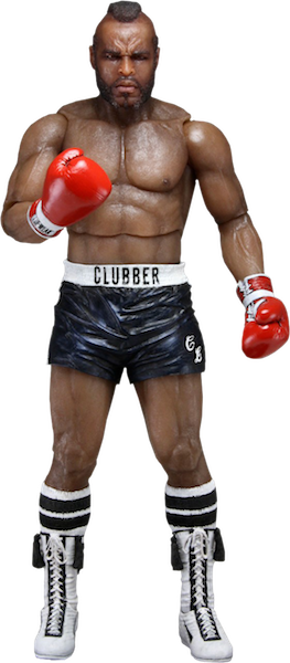 Rocky 40th Anniversary: Clubber Lang in Black Trunks Figure by Neca-NECA- www.superherotoystore.com-Action Figure - 1