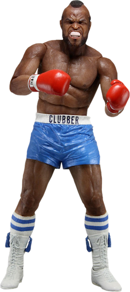 Rocky 40th Anniversary: Clubber Lang in Blue Trunks Figure by Neca-NECA- www.superherotoystore.com-Action Figure - 1