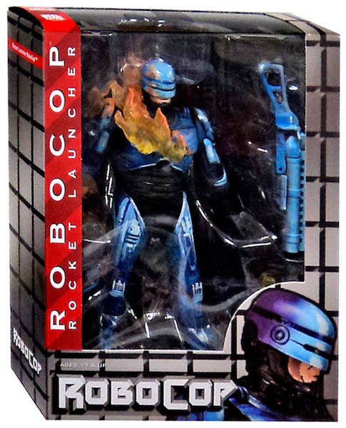 Robocop Vs Terminator - Series 2 Fire-Damaged Robocop by Neca-NECA- www.superherotoystore.com-Action Figure - 3