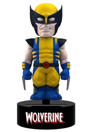Wolverine Solar Powered Body Knocker by Neca-NECA- www.superherotoystore.com-Bobble Heads