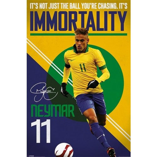 Neymar (Immortality) Maxi Poster by Pyramid -Superherotoystore.com - India - www.superherotoystore.com