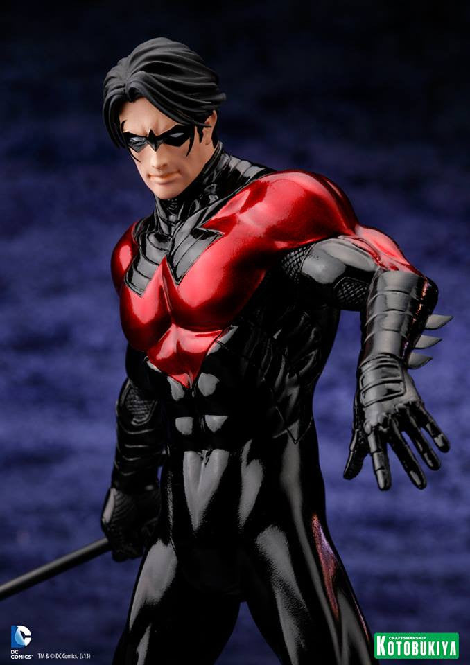 DC Comics Justice League New 52 Nightwing 1/10 Artfx Statue-Kotobukiya- www.superherotoystore.com-Action Figure - 2
