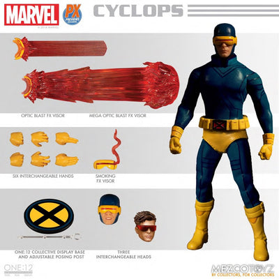 X-Men: Cyclops (Classic Version) One:12 Collectible Action Figure by Mezco Toys -Mezco Toys - India - www.superherotoystore.com
