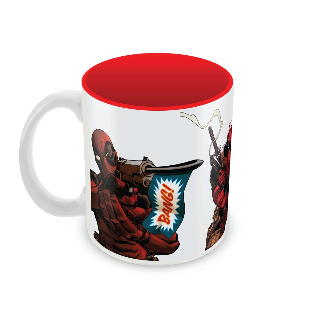 Deadpool - Bang Coffee Mug -Posterboy - India - www.superherotoystore.com