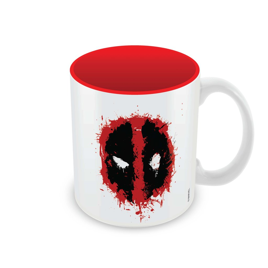 Deadpool Smudged logo Coffee Mug -Posterboy - India - www.superherotoystore.com