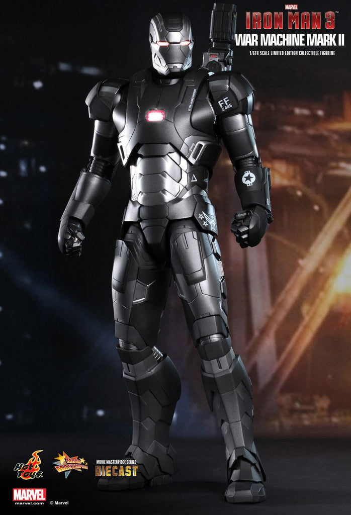 Iron Man 3: War Machine Mark II Sixth Scale Action Figure by Hot Toys-Hot Toys- www.superherotoystore.com-Action Figure - 2