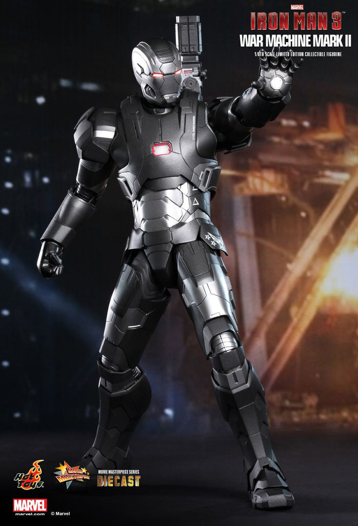 Iron Man 3: War Machine Mark II Sixth Scale Action Figure by Hot Toys-Hot Toys- www.superherotoystore.com-Action Figure - 3