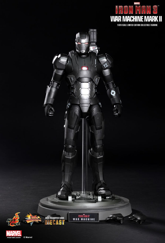 Iron Man 3: War Machine Mark II Sixth Scale Action Figure by Hot Toys-Hot Toys- www.superherotoystore.com-Action Figure - 5