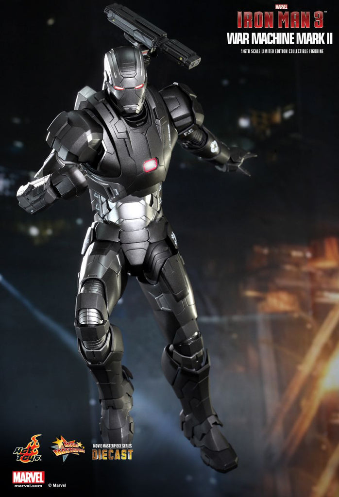 Iron Man 3: War Machine Mark II Sixth Scale Action Figure by Hot Toys-Hot Toys- www.superherotoystore.com-Action Figure - 4