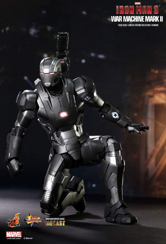 Iron Man 3: War Machine Mark II Sixth Scale Action Figure by Hot Toys-Hot Toys- www.superherotoystore.com-Action Figure - 6