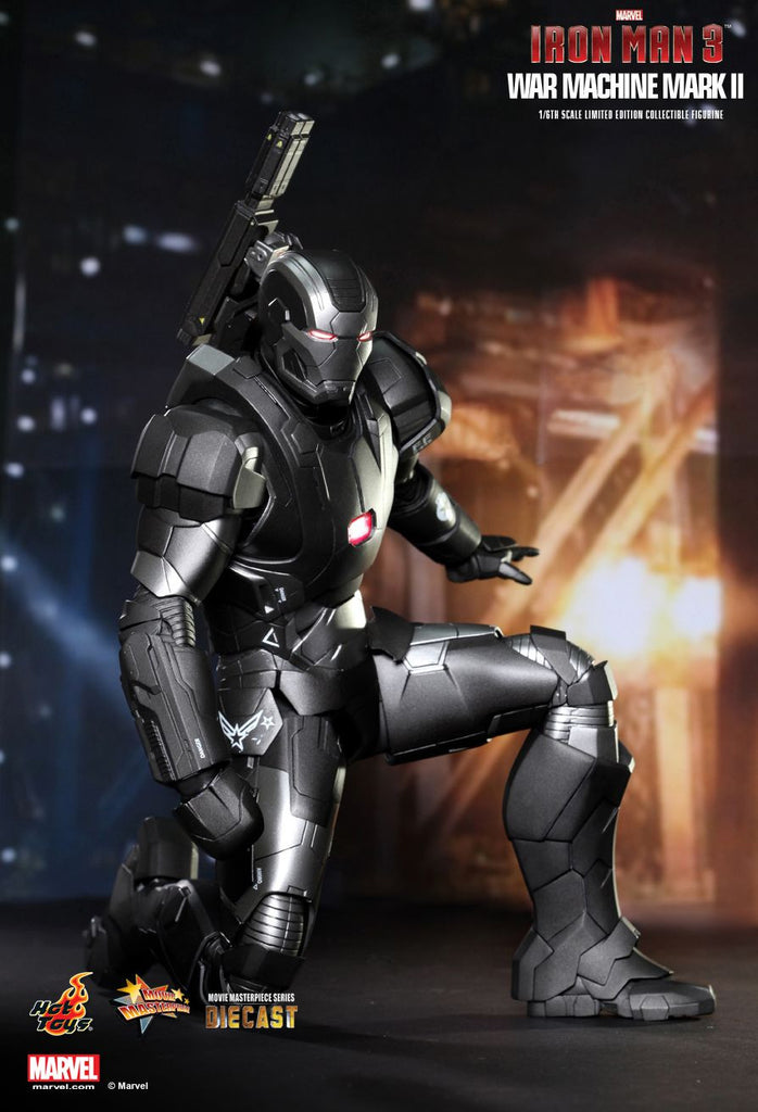 Iron Man 3: War Machine Mark II Sixth Scale Action Figure by Hot Toys-Hot Toys- www.superherotoystore.com-Action Figure - 7
