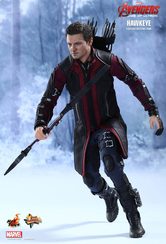 Avengers Age of Ultron: Hawkeye 1/6th Scale Action Figure by Hot Toys