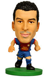 Pedro - Barcelona Home Kit-Soccer Starz- www.superherotoystore.com-Action Figure - 1