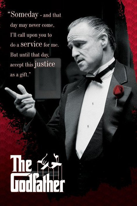 The Godfather (Someday) Maxi Poster-Superherotoystore.com- www.superherotoystore.com-Posters