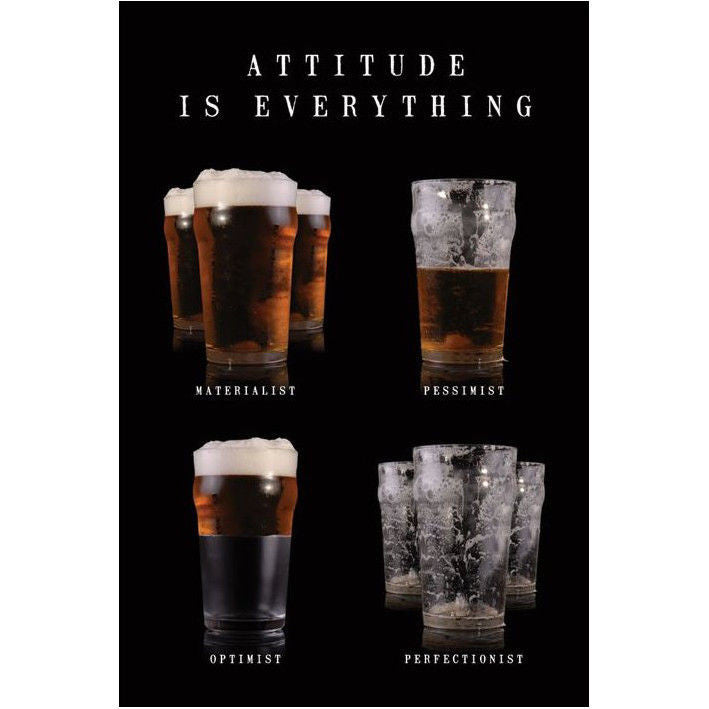 Attitude is Everything Beer-Superherotoystore.com- www.superherotoystore.com-Posters