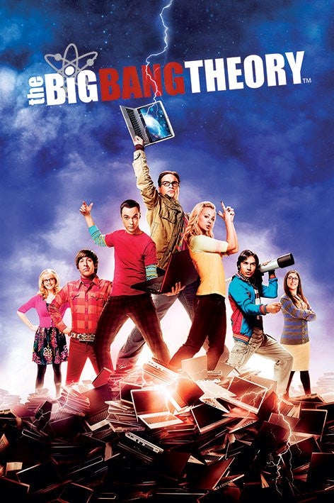 The Big Bang Theory Maxi Poster by GB Eye -Superherotoystore.com - India - www.superherotoystore.com
