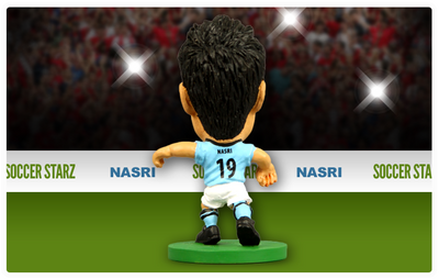 Nasri - Manchester City Home Kit-Soccer Starz- www.superherotoystore.com-Action Figure - 3