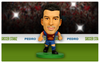 Pedro - Barcelona Home Kit-Soccer Starz- www.superherotoystore.com-Action Figure - 2