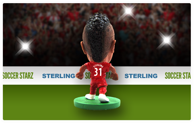 Raheem Sterling - Liverpool Home Kit-Soccer Starz- www.superherotoystore.com-Action Figure - 3