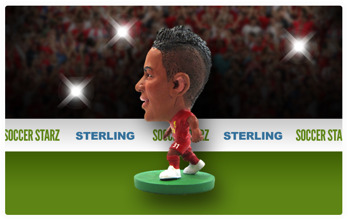 Raheem Sterling - Liverpool Home Kit-Soccer Starz- www.superherotoystore.com-Action Figure - 4