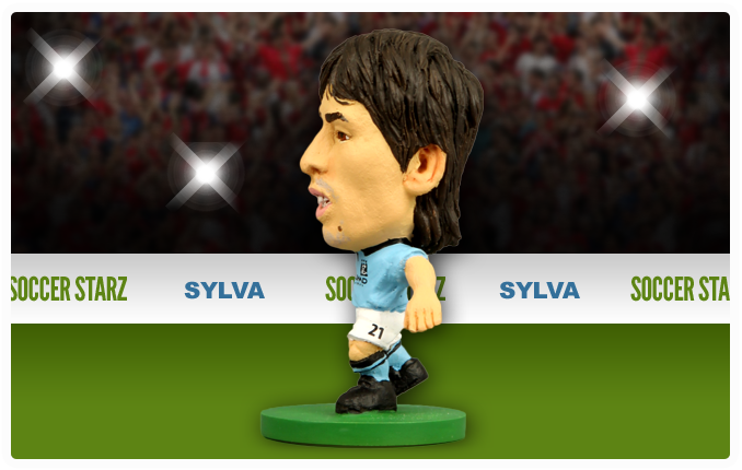 David Silva - Manchester City Home Kit-Soccer Starz- www.superherotoystore.com-Action Figure - 4