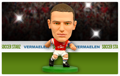 Thomas Vermaelen - Arsenal Home Kit-Soccer Starz- www.superherotoystore.com-Action Figure - 3