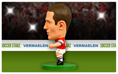 Thomas Vermaelen - Arsenal Home Kit-Soccer Starz- www.superherotoystore.com-Action Figure - 2