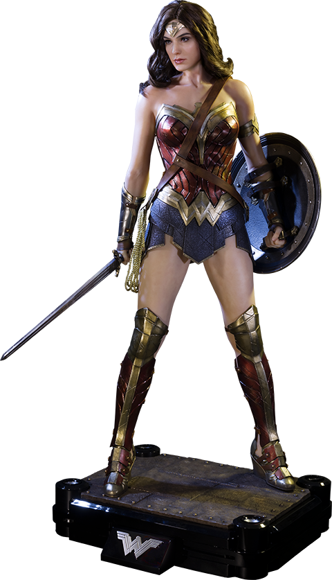 Dawn of Justice: Wonder Woman 1/2 Scale Polystone Statue ...