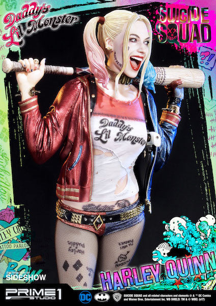Suicide Squad Harley Quinn 1:3rd Scale Statue by Prime 1 Studios