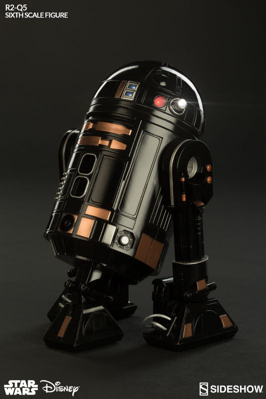 R2-Q5 1/6th Scale Action Figure by Sideshow Collectibles-Sideshow Collectibles- www.superherotoystore.com-Action Figure - 2
