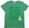 Simpsons Green T-Shirt by Bio World-Bio World- www.superherotoystore.com-T-Shirt - 1