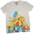 Simpsons White T-Shirt by Bio World-Bio World- www.superherotoystore.com-T-Shirt - 1