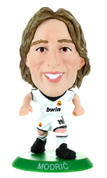 Luka Modric - Real Madrid Home Kit-Soccer Starz- www.superherotoystore.com-Action Figure - 1