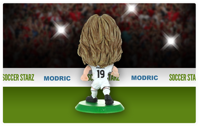 Luka Modric - Real Madrid Home Kit-Soccer Starz- www.superherotoystore.com-Action Figure - 3