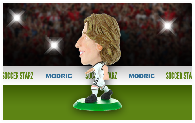 Luka Modric - Real Madrid Home Kit-Soccer Starz- www.superherotoystore.com-Action Figure - 2