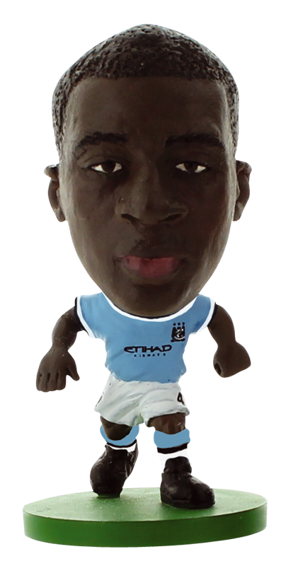 Yaya Toure - Manchester City Home Kit-Soccer Starz- www.superherotoystore.com-Action Figure - 1