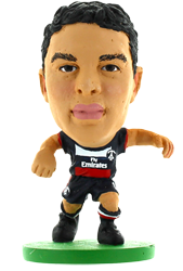 Thiago Silva - Paris St Germain Home Kit-Soccer Starz- www.superherotoystore.com-Action Figure - 1