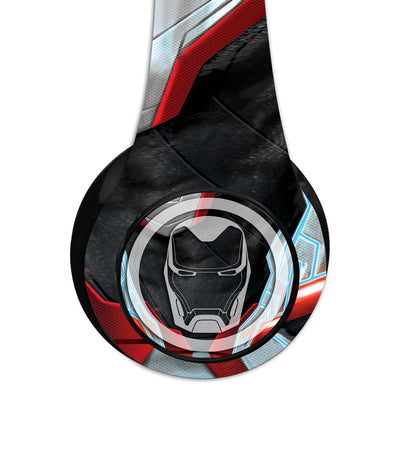 Avengers Endgame : Iron Man in Suit Wireless Headphones by Macmerise -Macmerise - India - www.superherotoystore.com
