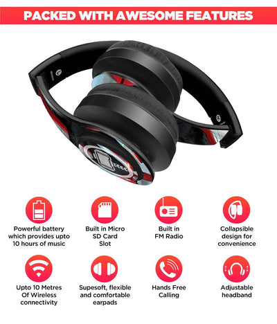 Avengers Endgame : Thor in Suit Wireless Headphones by Macmerise -Macmerise - India - www.superherotoystore.com