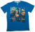 Man of Steel Superman Blue T-shirt-Bio World- www.superherotoystore.com-T-Shirt - 1