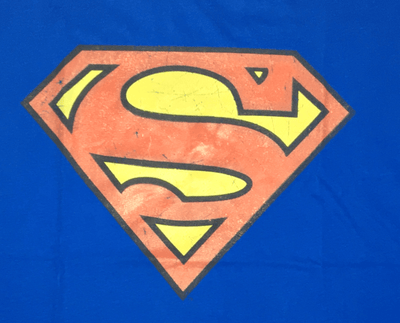 Superman Logo  - Royal Blue T-shirt-Bio World- www.superherotoystore.com-T-Shirt - 2