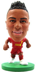Raheem Sterling - Liverpool Home Kit-Soccer Starz- www.superherotoystore.com-Action Figure - 1