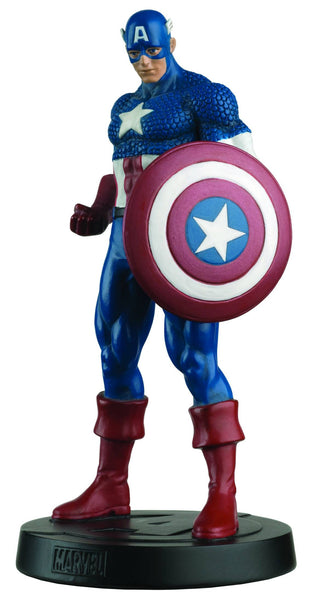 Marvel Fact Files Special #3 Captain America-Eaglemoss Publications- www.superherotoystore.com-Action Figure