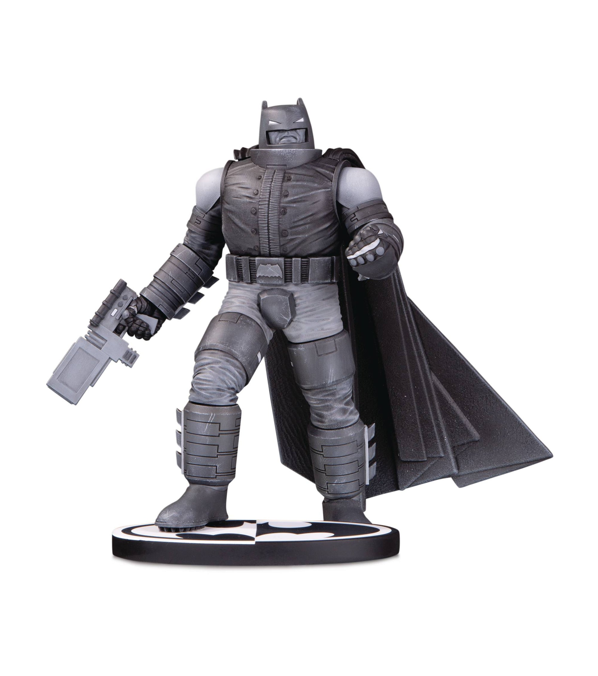 Batman Black & White Frank Miller Armored Batman Statue by DC Collectibles -DC Collectibles - India - www.superherotoystore.com