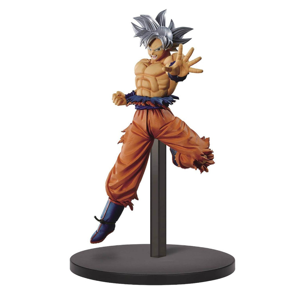 Dragon Ball Super Chosenshi Retsuden II Vol.1 Son Goku Ultra Instinct Statue by Banpresto -Banpresto - India - www.superherotoystore.com