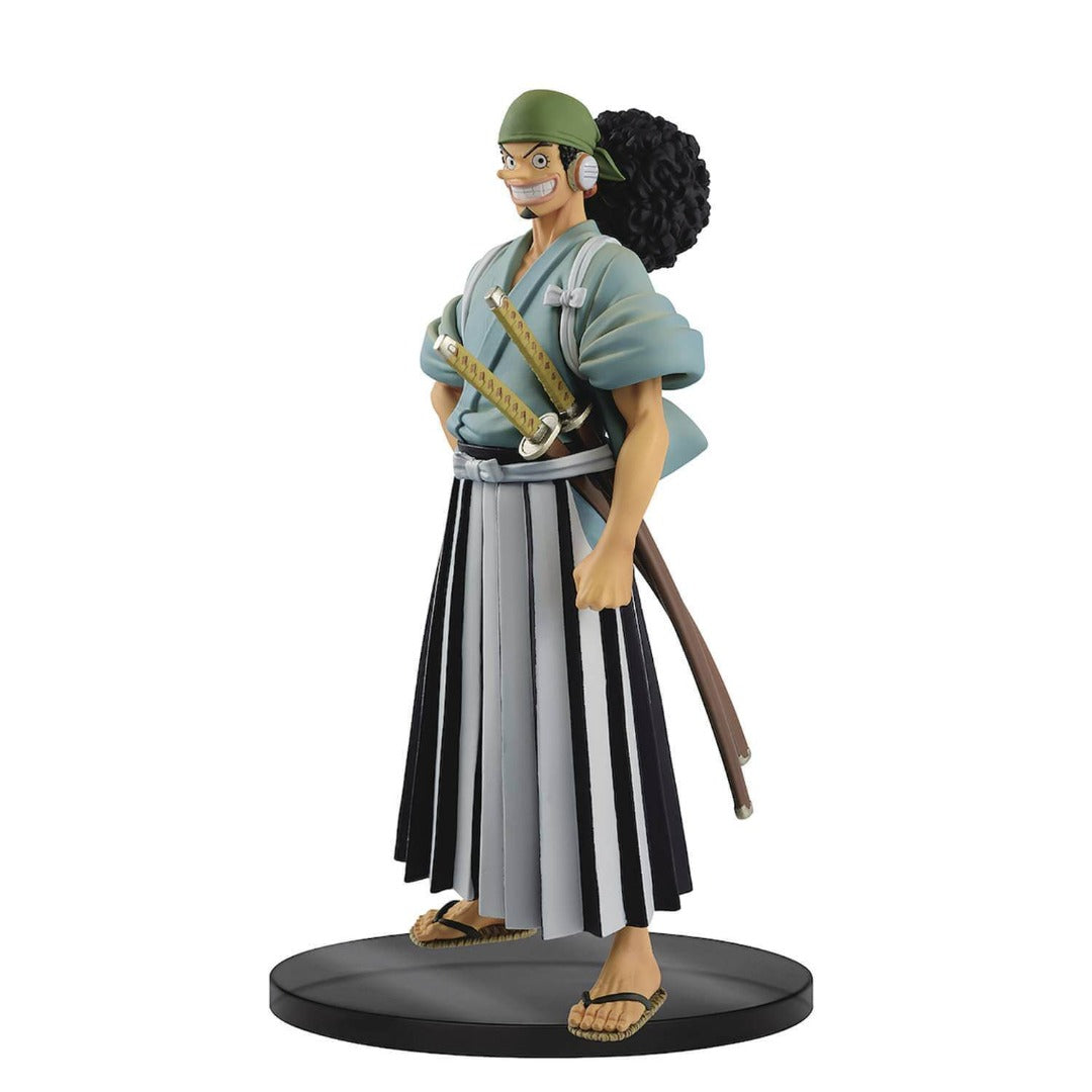 One Piece The Grandline Men Usopp Vol.6 Wanokuni DXF Statue by Banpresto
