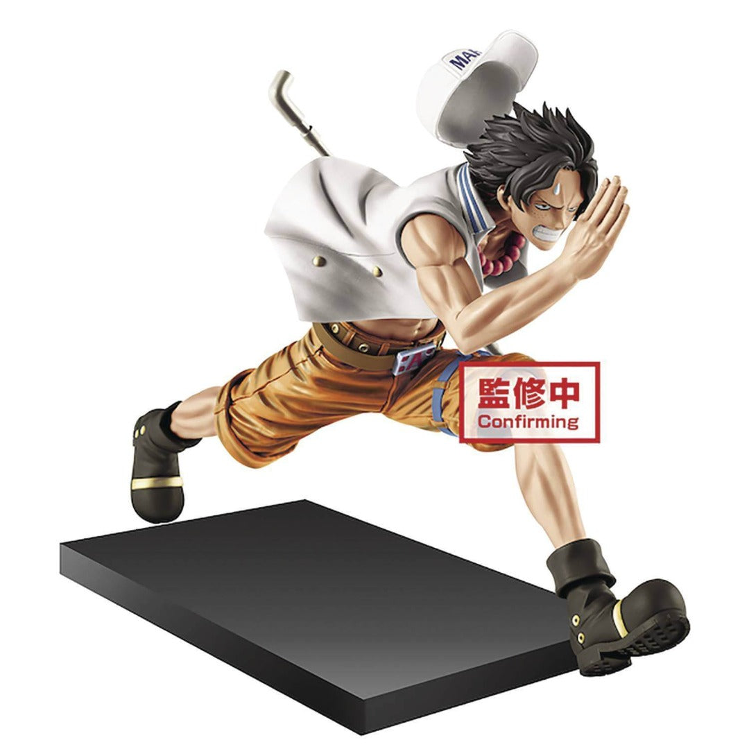 One Piece Magazine Vol.1 Portgas Statue by Banpresto
