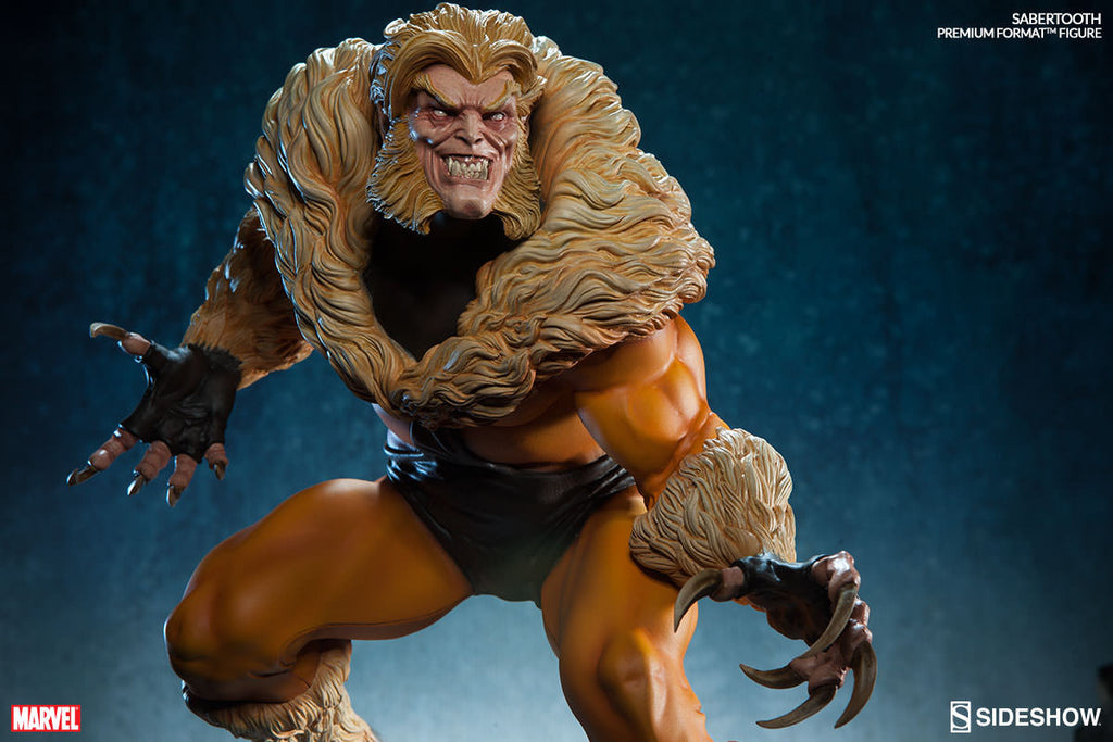 Sabretooth Premium Format Statue-Sideshow Collectibles- www.superherotoystore.com-Statue - 8